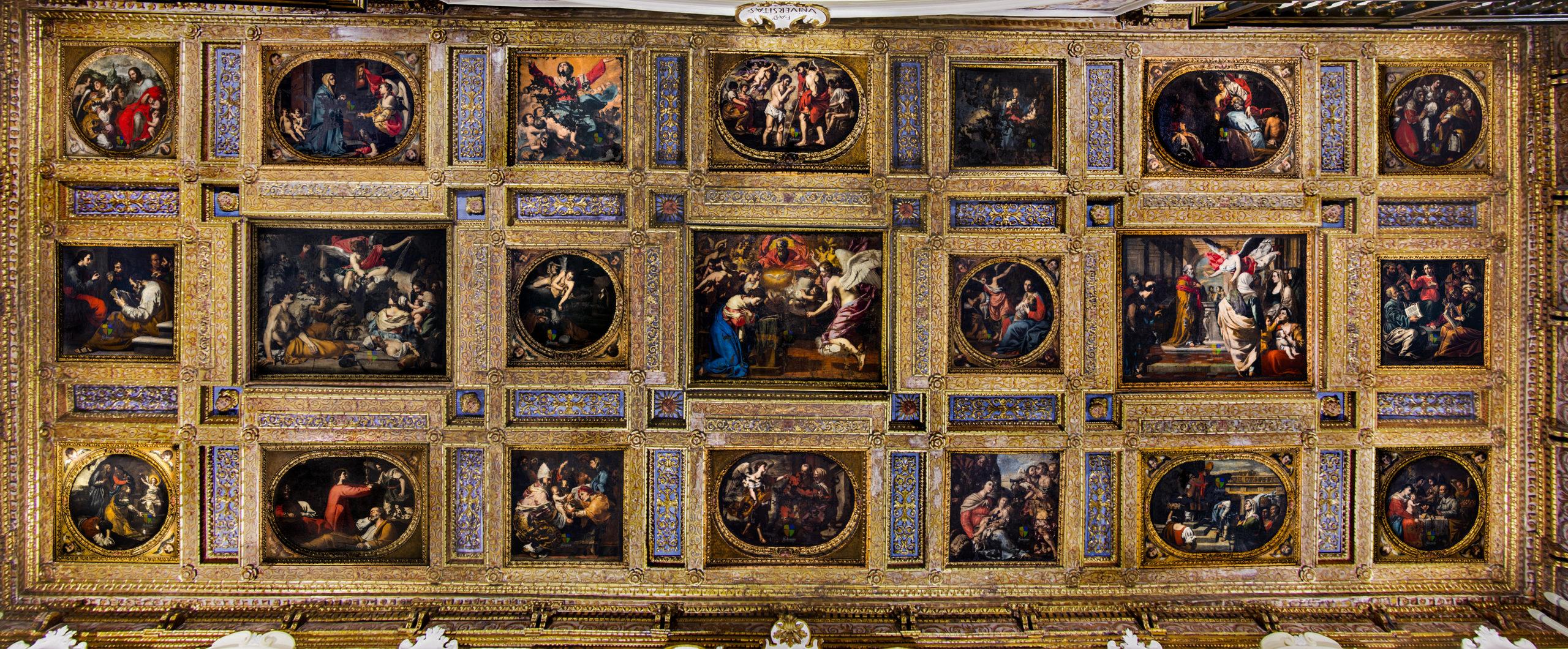 Le opere del transetto di Francesco Guarini e bottega
